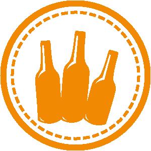 icone boissons thés, bières, minérales