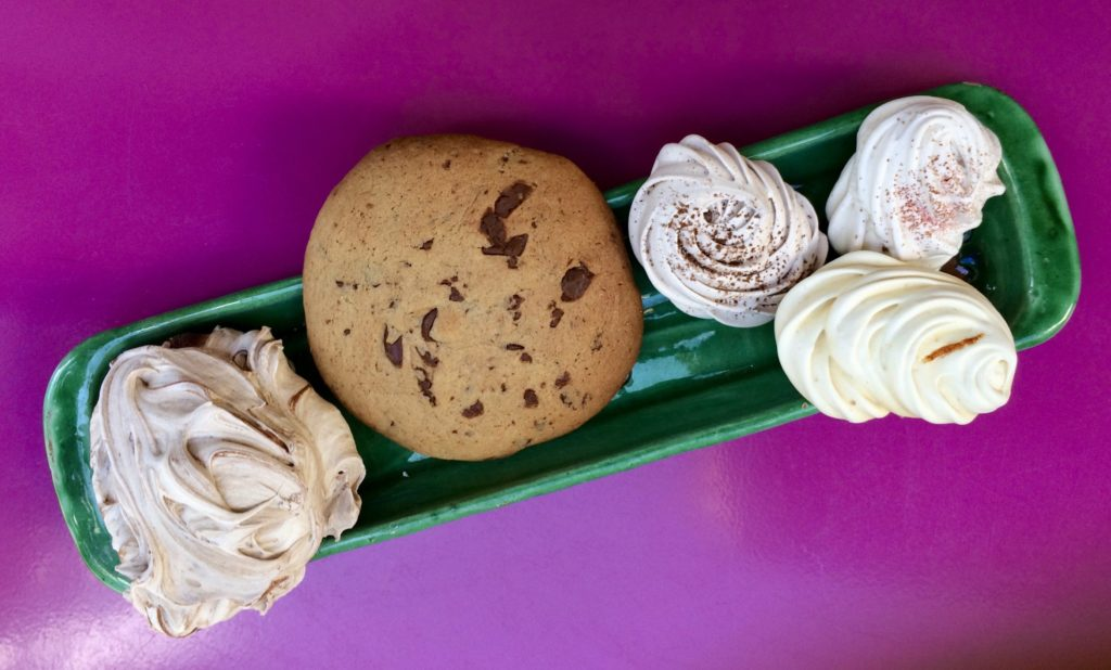 meringue et cookie